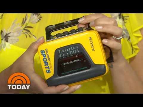 Celebrating 40 Years Since Sony's Iconic Walkman Debuted   TODAY