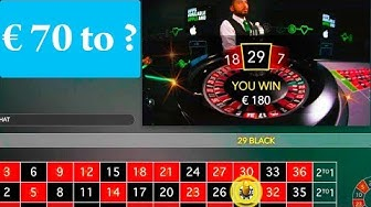 70 EURO to 5?? ONLINE CASINO ROULETTE #39