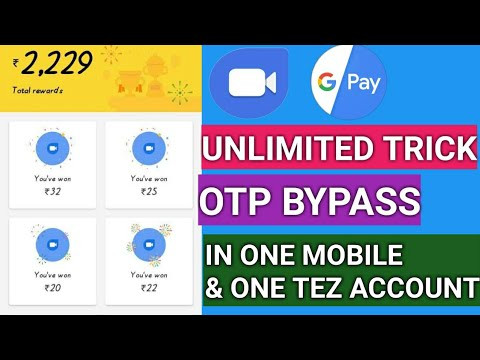 Google Duo and Google Pay Tez Unlimited Trick Get Free 30 Scratch Cards Rs   1000 GUARANTEED MONEY