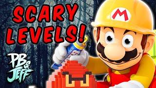 MARIO'S DIVORCED! - SCARY Mario Maker