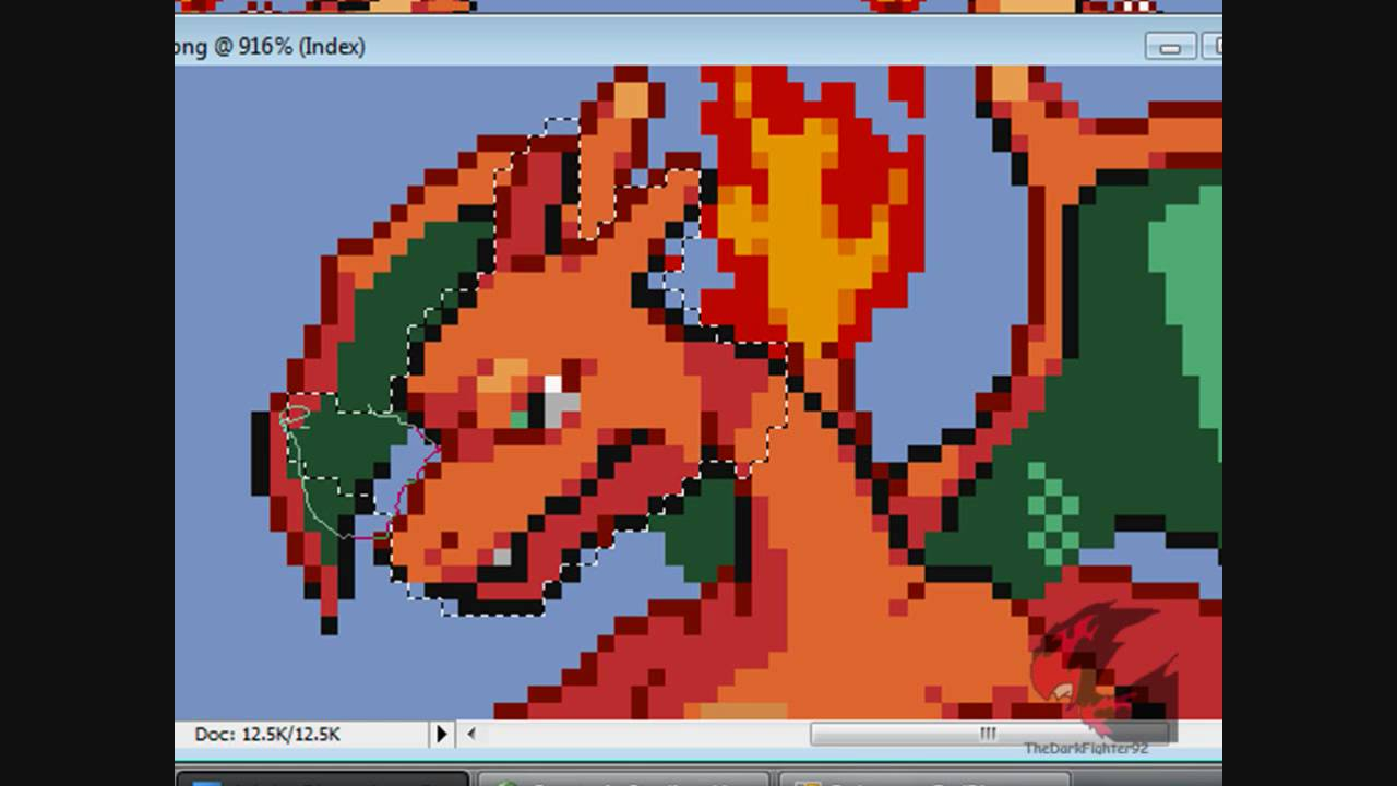 changing pokemon ds sprites part 1 youtube