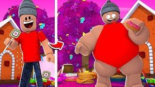 SIMULADOR DE COMER DOCES - Roblox Candy Simulator