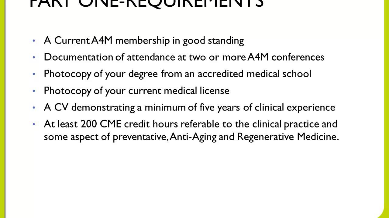 American academy of anti aging medicine a4m abaarm board american academy of anti aging medicine a4m abaarm board certification overview 1betcityfo Images