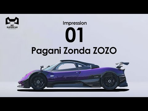 【Pagani Zonda ZOZO】世界に一台!市場価格8億円のスーパーカー!?