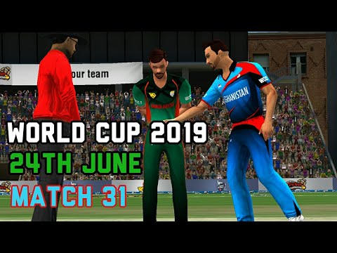Bangladesh vs Afghanistan Live Prediction 24th June 31st ICC World cup match World championship WCC2