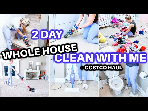 EXTREME WHOLE HOUSE CLEAN WITH ME 2021 | SPEED CLEANING MOTIVATION | CLEANING ROUTINE | COSTCO HAUL - Jamie's Journey