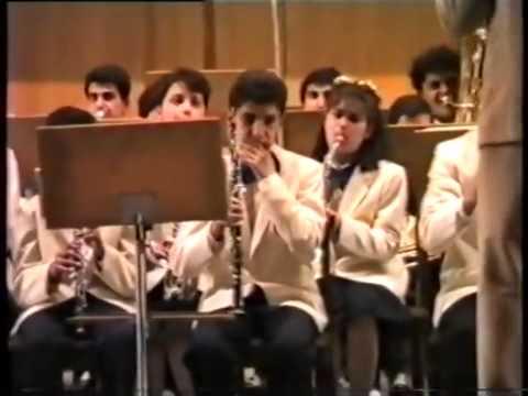 Музыкальная школа 13. 1991г Ереван