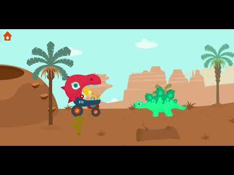 """Наши приключения в игре : """"Раскопки Юрского Периода: Игры для детей"""". Милый"""