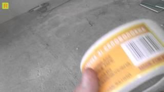 Гипсокартон (армировка швов) стройка