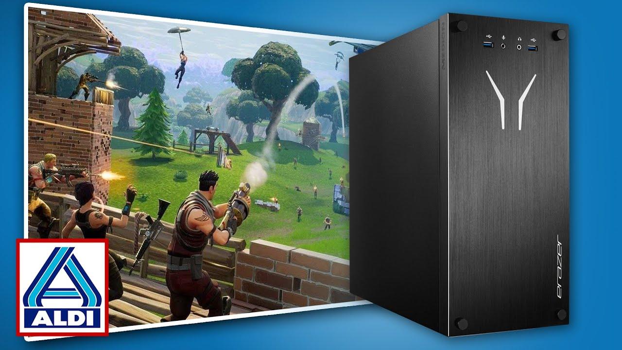 Minecraft & Fortnite mit Raytracing zum Schnäppchen-Preis: Aldi-Gaming-PC Erazer Recon P10?