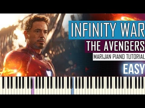How To Play: Marvel's Avengers - Infinity War - Official Trailer Music | Piano Tutorial EASY Sheets