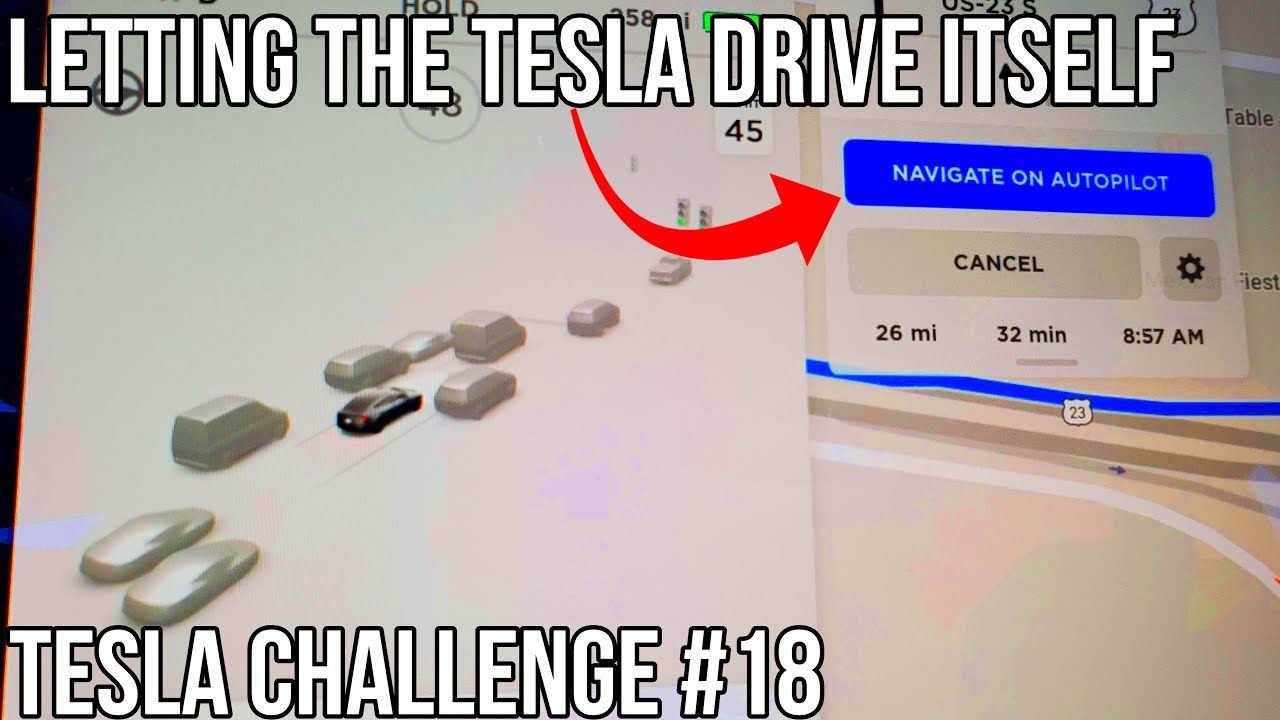 Can Tesla Autopilot Drive Itself 50 Miles?! | TESLA ...