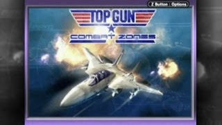 CGR Undertow - TOP GUN: COMBAT ZONES review for Game Boy Advance