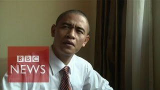 Chinese Obama speaks 'fake' English - BBC News