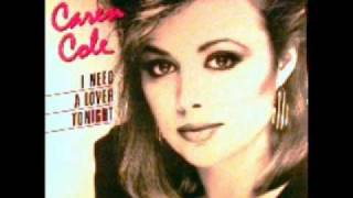 CAREN COLE - I Need A Lover Tonight 1986