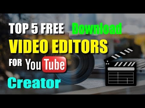 Top 5 Best Video Editing Pc Software for FREE | Windows User | Youtuber choice 2018