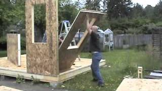 Building a shed with SIPs