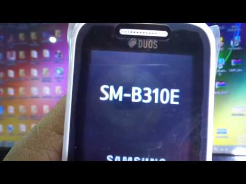 HOW TO REMOVE PHONE LOCK SAMSUNG B310E without loss data 2018