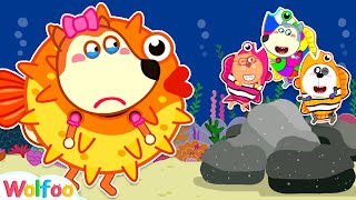 Kids Story About Pufferfish: Wolfoo Wants to Be Like Friends and Play Together   Wolfoo Channel screenshot 3