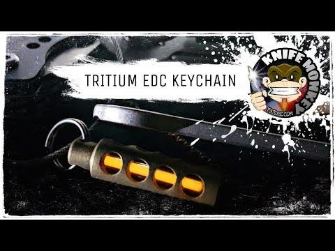 Tritium EDC Keychain Review (Radioactive?)