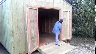 14x20 Gable Shed - Workshop - Shed Plans - Stout Sheds Llc