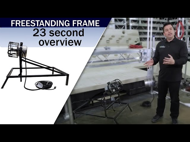 Aqua Thruster FREESTANDING FRAME Mount | Video Overview