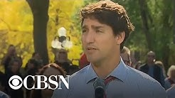 Canadian Prime Minister Justin Trudeau apologizes for wearing blackface at party