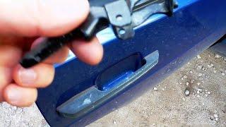 Ремонт зовнішньої ручки дверей ВАЗ-2109 (2108-21099), заміна зламаною клавіші (курка)