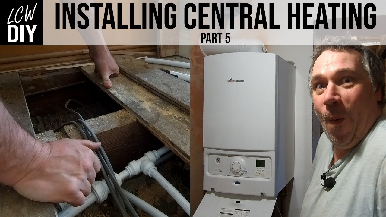 Getting a free central heating installed service