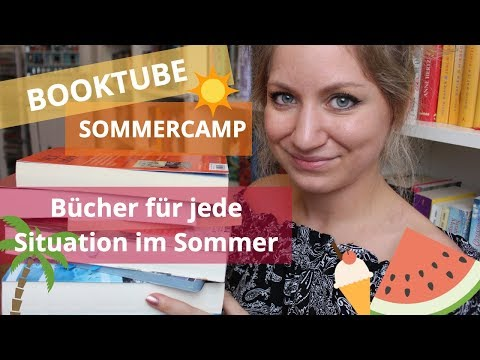 ✨Booktube Sommercamp: Bücher für jede Situation im Sommer | Thriller, Fantasy, Lovestory & Co.