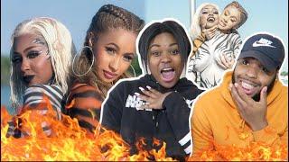 FIRE PERIODTTT!! 🔥🔥  City Girls - Twerk ft. Cardi B (Official Music Video)   REACTION!!