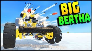 TerraTech - BIG BERTHA & Mobile Refinery Base (TerraTech Gameplay)