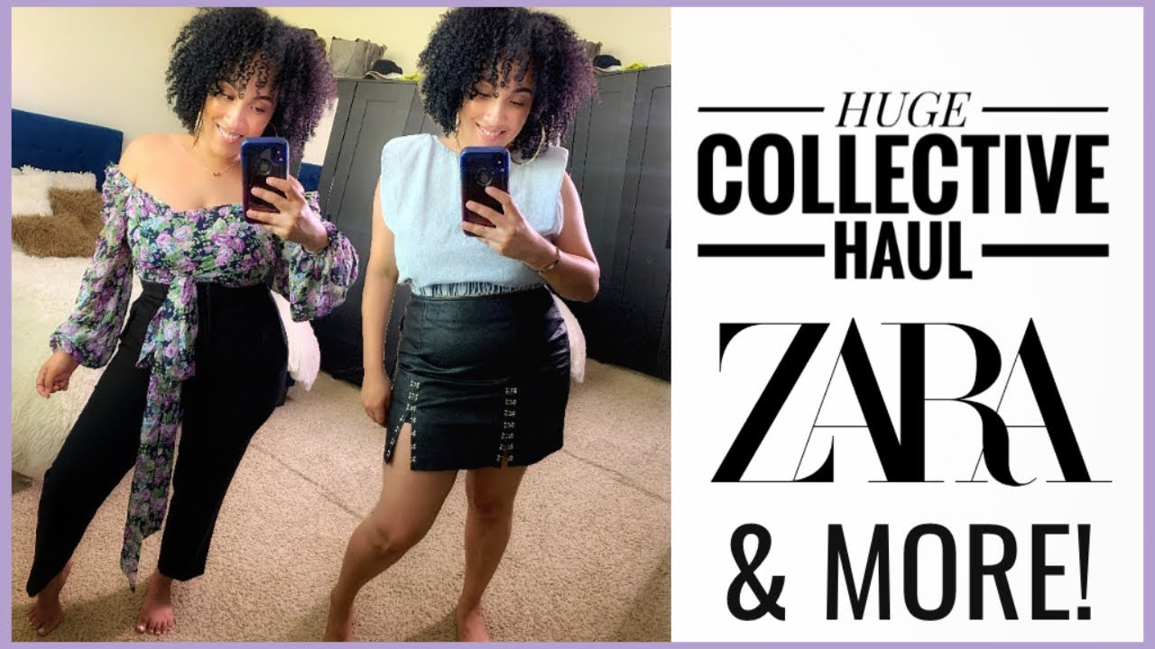 HUGE Collective Haul | Zara, Levi's, SHEIN & more!