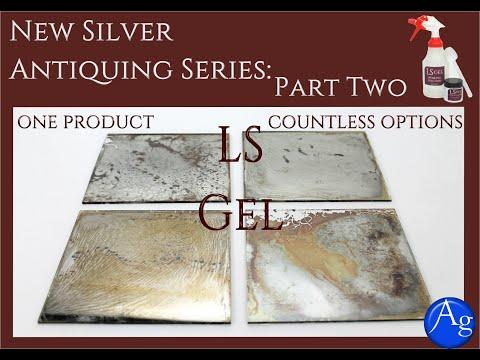 Making an Antique Mirror Series: Part Two- LS Gel