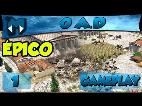 0 A.D. #1 COOP - RTS ÉPICO LEMBRANDO AGE OF EMPIRES, RISE OF NATIONS E OUTROS! / PT-BR 1080p 60fps