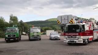 Stromschlag Mädchen in Trier kommt 15000VoltOberleitung zu nahe und wird schwer verletzt