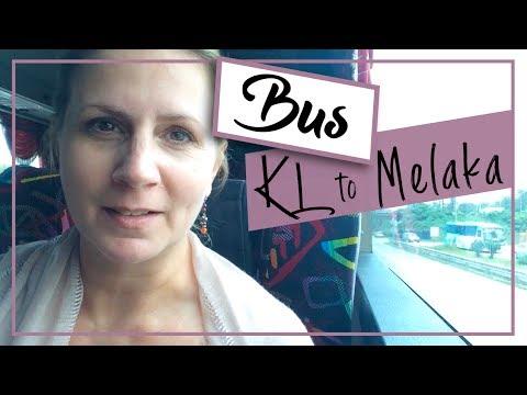 Malaysia Vlog | Kuala Lumpur to Malacca by Bus on Mayang Sari