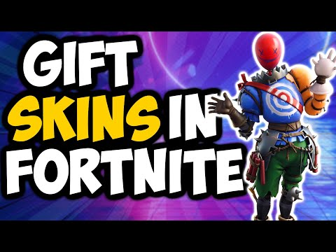 How To Gift Skins In Fortnite Chapter 2 Season 2 (2020)
