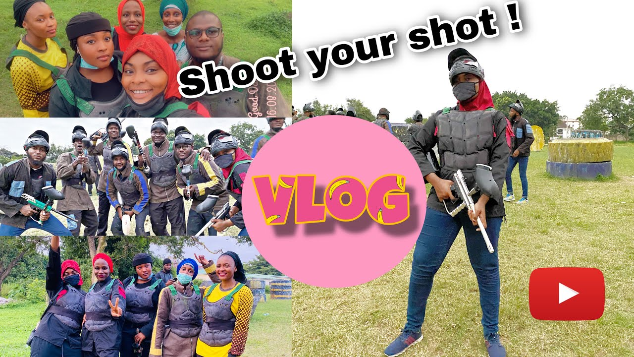 SHOOT YOUR SHOT | FRIENDS HANGOUT | HALAL CHILLING | PAINTBALLING | MUSLIM YOUTUBER | ABUJA CITY