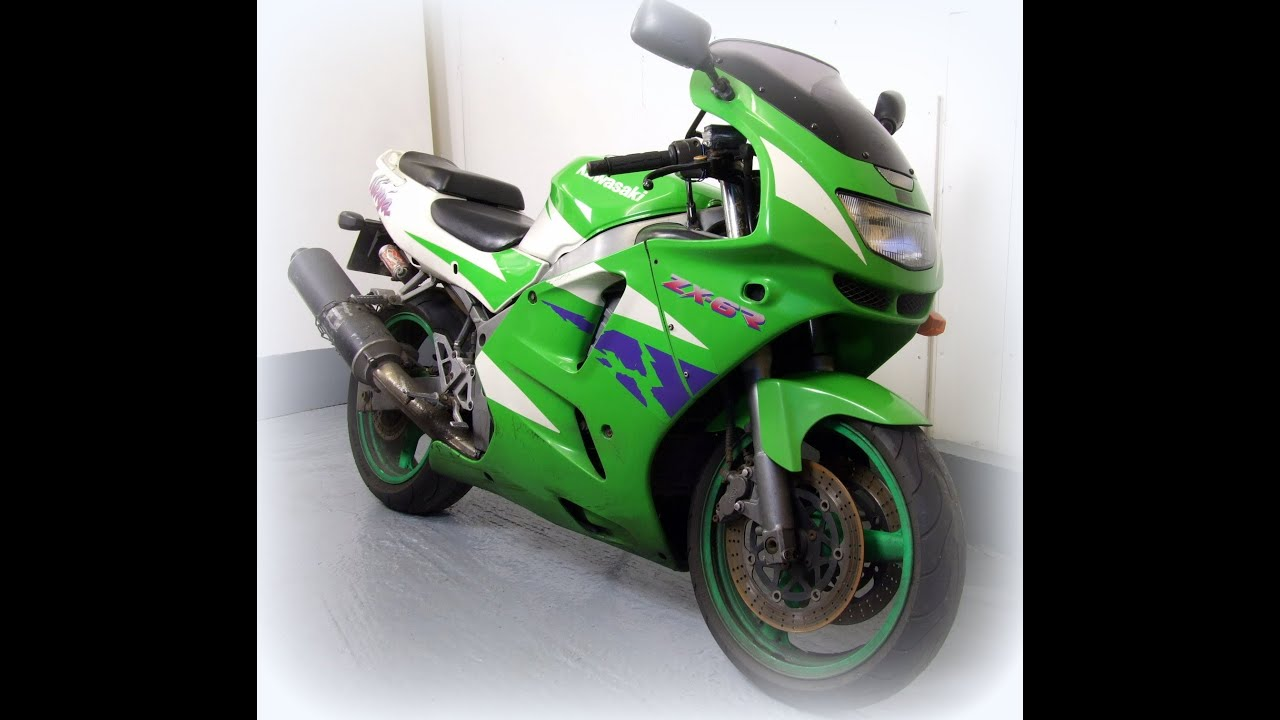 Kawasaki ZX6R For Sale 1996 47K Easy Repair Low Cost Delivery Options