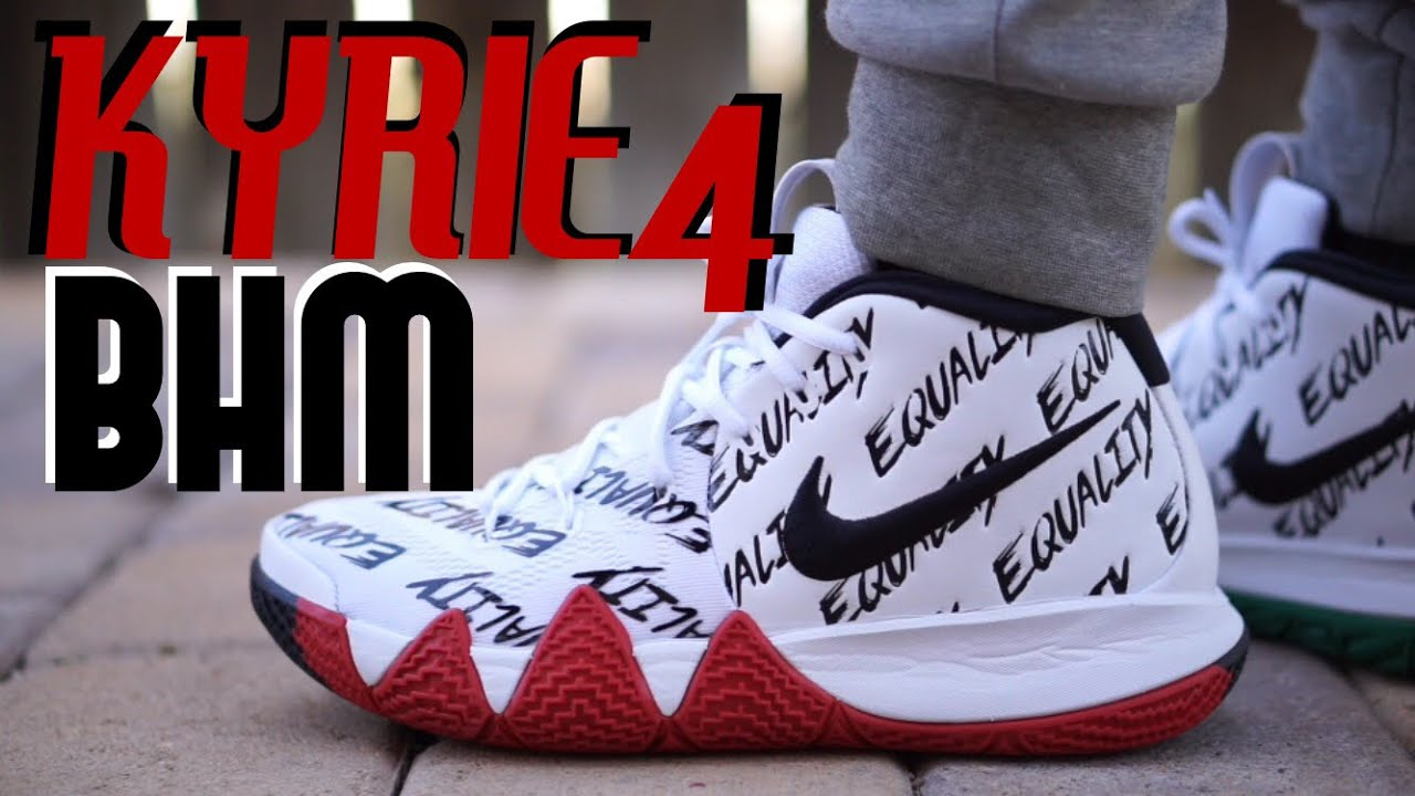 81c5268e5154 ... switzerland nike kyrie 4 bhm equality on feet review 5b4d3 a9a61