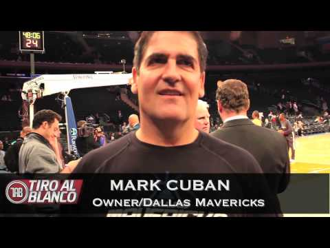 KEEZ ON THE COURT WITH DALLAS MAVERICKS OWNER MARK CUBAN Travel Video