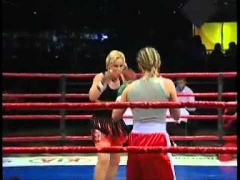 Valentina The Bullet Shevchenko vs Yulia Nemtsova, professional free fight, Russia 2006