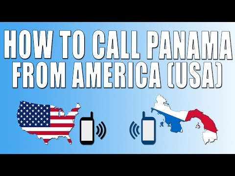 How To Call Panama From America (USA)