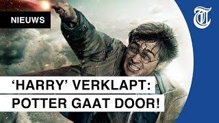 Daniel Radcliffe hint op nieuwe Harry Potter