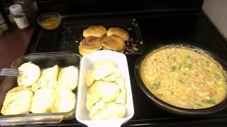 Chef Franco  Easy Chicken Pot Pie  Pt 2