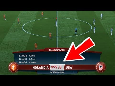 Maksymalna liczba BRAMEK / KONTUZJI w jednym spotkaniu | FIFA 18