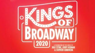 KINGS OF BROADWAY 2020: A Celebration Of The Music Of Jule Styne, Jerry Herman & Stephen Sondheim YouTube Videos