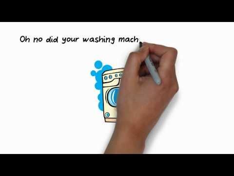 Whiteboard Animation Video Created For www.washerrepair.net