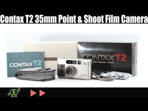 Contax T2 Silver 35mm Film Camera (Item ID : F00115 )